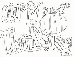 happy thanksgiving coloring pages on images free download with