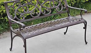 bench iron bench garden amazing cast iron outdoor bench bentley