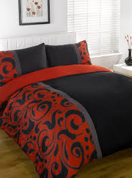 Black Comforter King Size Red And Grey Comforter White And Red Comforter Idea With Modern