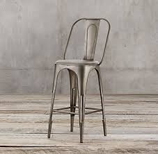 Restoration Hardware Bar Stool Remy Stool