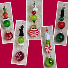 Homemade Christmas Tree Ornaments by Beaded Christmas Tree Ornaments Beads U0026 Pieces