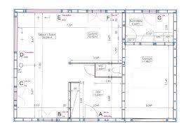 plan maison cuisine ouverte plans notre maison ossature bois