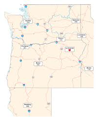 Portland Oregon County Map by Location Union County Economic Development Corporation