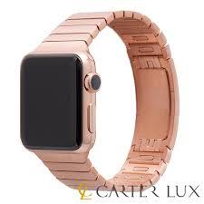 rose link bracelet images 24k rose gold apple watch series 2 genuine link bracelet 24 karat jpg