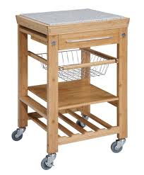linon kitchen cart with granite top u0026 reviews wayfair kitchen