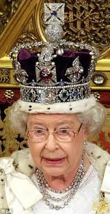 Princess Of England Queen Elizabeth Ii Wore Imperial State Crown And Jewelry What Is
