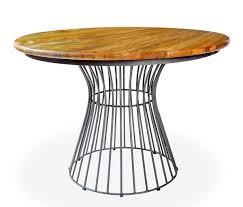 Industrial Bistro Table Birdcage Round Bistro Table Urban Ranges