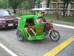 motorcycle philippines tricycle philippine taxi return to the philippines pinterest