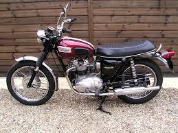 sold triumph trophy t100c 500 sympathetic restoration 1970 h