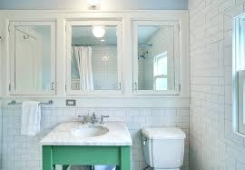 Wood Medicine Cabinet No Mirror Clever Recessed Bathroom Medicine Cabinet In Recessed Wood