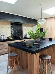 cuisine bois flotté beau deco cuisine bois clair et deco cuisine bois clair galerie