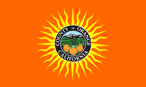 Flag Yellow Sun File Flag Of Orange County California Svg Wikimedia Commons