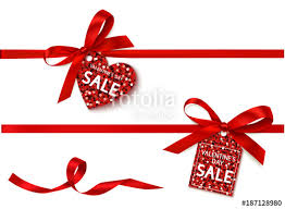 ribbon on sale decorative set of vertical ribbon with bow and sale tag for black