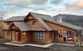 Luxury Cabin Homes Beaver Mountain Log U0026 Cedar Homes