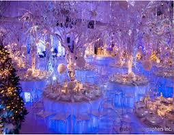 Decoration For Christmas Wedding by Icy Blue Winter Wedding Decor Winter Wonderland Design