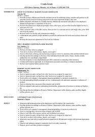 sample resume for bakery job bakery sales resume samples velvet jobs
