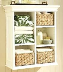 Wicker Bathroom Wall Shelves Wicker Bathroom Wall Shelves Wall Shelf Unit With Wicker Baskets