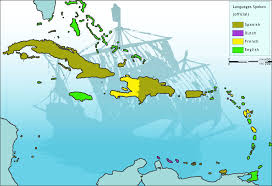 Map Of The Caribbean Islands File Map Caribbean Languages Big Png Wikipedia