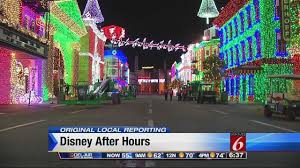disney saying goodbye to osborne family holiday light display