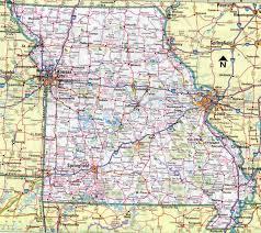 Columbia Missouri Map Map Of Missouri