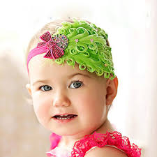 flower hair band 1pcs baby hair band feather flower hair bow band baby girl