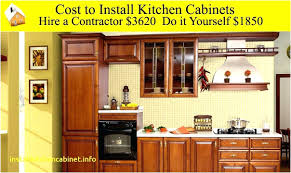How To Install Kitchen Cabinet Doors How To Replace Cabinet Doors Changing Drawers Only Cost Kitchen