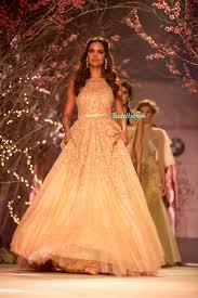 Bridal Fashion Week Wedding Dress by Esha Gupta Christian Wedding Gown Jyotsna Tiwari India Bridal