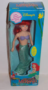 barbie cars from the 90s 1992 disney little mermaid ariel doll in the box tyco 91 2 inch