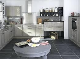 cuisine sol gris cuisine sol gris cuisine blanche plan de travail bois sol gris