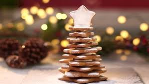 3d gingerbread christmas trees recipes food network uk