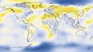 World Temperature Map Svs Five Year Average Global Temperature Anomalies From 1880 To 2010