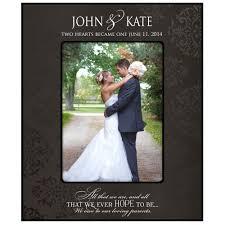 amazon com wedding photo frame personalized parent wedding gifts