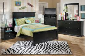 Ashley Bedroom Set With Leather Headboard Shop Bedroom Furniture At Gardner White