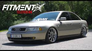 audi a4 slammed vehicle spotlight slammed 2001 audi a4 youtube
