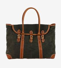 joshua tree canvas weekender bag features wanderlust leather