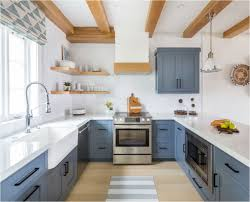 blue kitchen cabinets forever classic blue kitchen cabinets centsational style