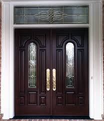 Front Doors With Glass Side Panels Provia Signet Fiberglass French Entry Door With Sidelights And