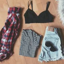shorts bralette black red high waisted shorts high
