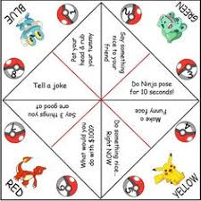 pokemon evolution diy kaleidoscope paper toy paper toys diy