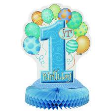 1st birthday 1st birthday balloon blue honeycomb centrepiece parties4africa