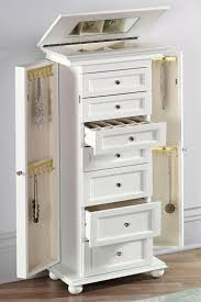 Jewelry Storage Cabinet Magnificent Design For Jewelry Armoire With Lock Ideas Best Ideas