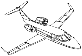 airplane coloring pages 7329