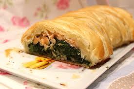 cuisiner epinard tresse feuilletée aux épinards et saumon fumé pour ceux qui aiment
