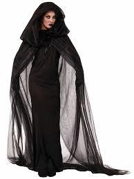 halloween witch costume ideas dress cloak hood black halloween