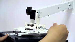 Retractable Projector Ceiling Mount by New Projector Wall And Ceiling Mount Vm Pr15l Youtube