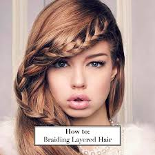 layered extensions how to braid layered hair hair extensions hair tutorials
