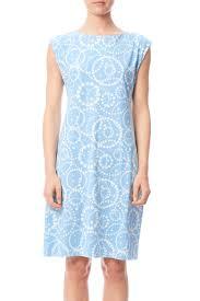 light blue shift dress michele parisou light blue shift dress from long island by birch