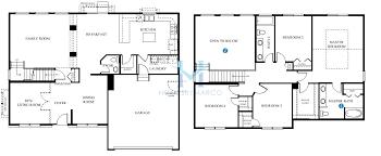 Dr Horton Cambridge Floor Plan Tuscan Model In The Cambridge Lakes Subdivision In Pingree Grove