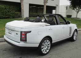 lexus on vogue tires range rover convertible