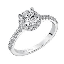 artcarved bridal layla engagement ring by artcarved ronnies jewelry